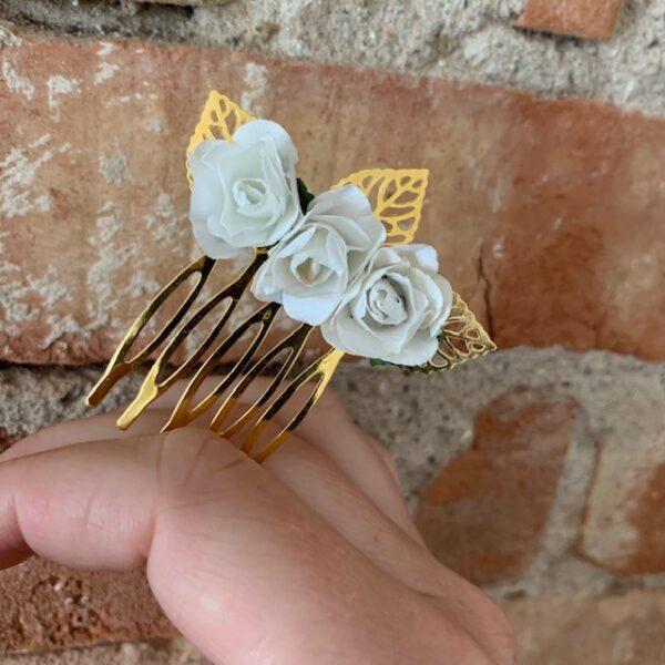 Hjemmelavet hårsmykker fra ByKragskov